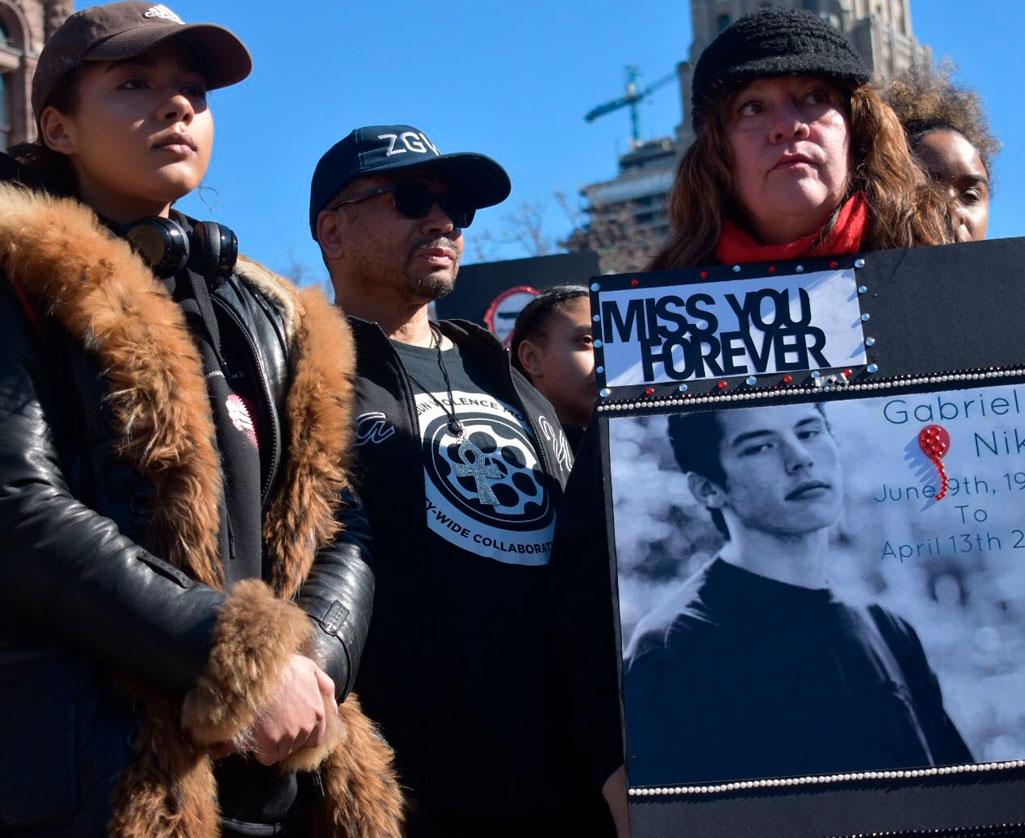 anti-gun violence activists toronto